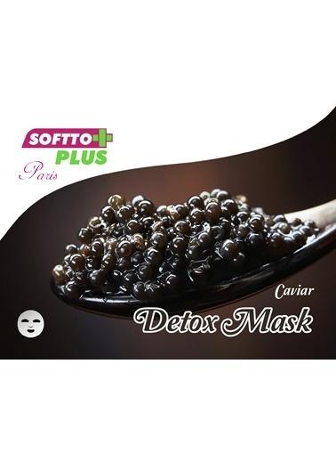 Softto Plus Havyar Özlü Detoks Maske 2 Adet Renksiz